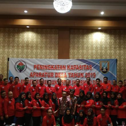 Pelatihan SID Kecamatan Rembang 2019